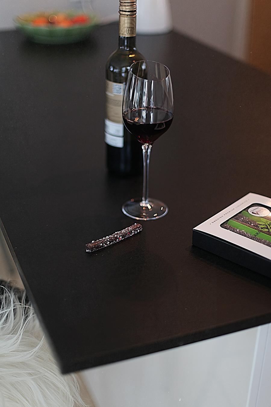 liten kartong rødvin